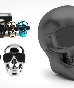 newplay bluetooth speaker skull