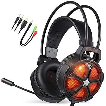 Newplay gaming hörlurar EasySMX COOL 2000 orange.