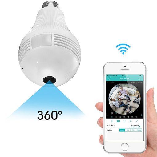 Newplay trådlös kamera panorama 360 wifi