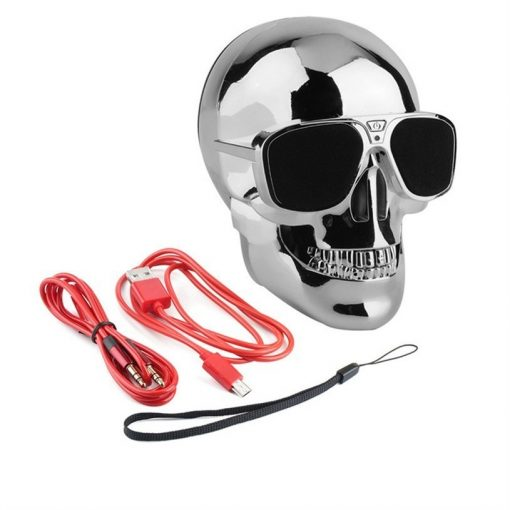 newplay bluetooth högtalare skull