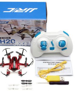 Drönare mini 6 propellrar JJRC H20 Hexacopter 2.4G 6 Axis Gyro röd