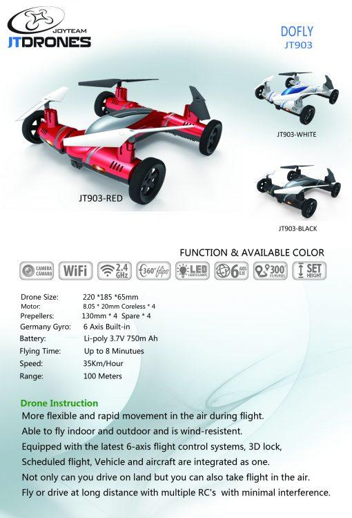 newplay-flygande-bil-drönare-rfd031-DOFLY