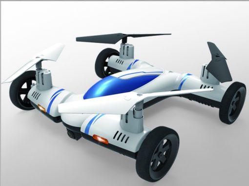 newplay-flygande-bil-drönare-rfd031-vit