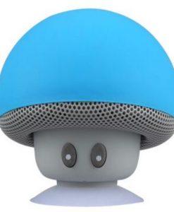 mushroom bluetooth högtalare blå newplay