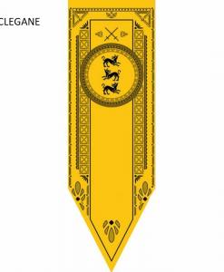 Newplay CLEGANE Game of thrones banner flagga
