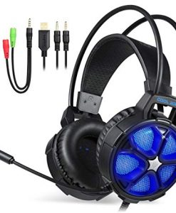 Newplay gaming hörlurar EasySMX COOL 2000 blue