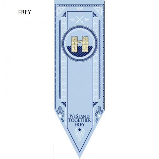 Newplay FREY Game of thrones banner flagga