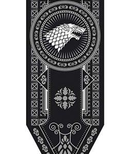 Newplay Game of thrones Stark banner flagga