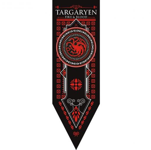 Newplay Game of thrones Targaryen banner flagga