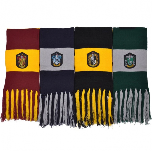 Newplay Harry Potter halsduk scarf gryffindor slytherin ravenclaw hufflepuff 2 (2)