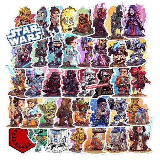 Newplay Klistermärken stickers Starwars Star wars