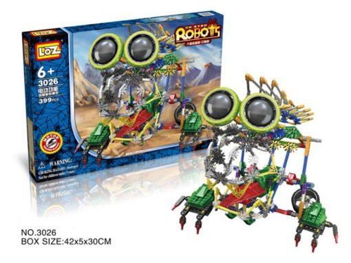 Newplay Loz building blocks Robots 3026