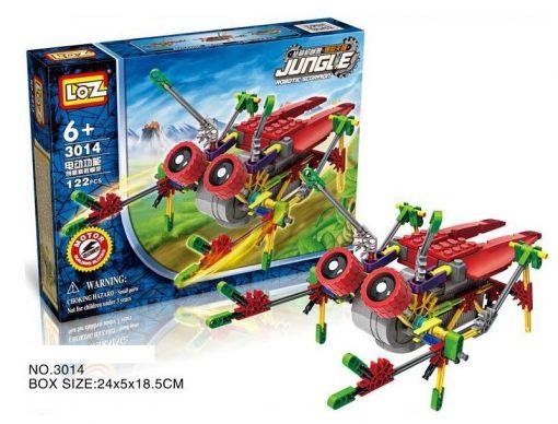 Newplay Loz building blocks jungle 3014