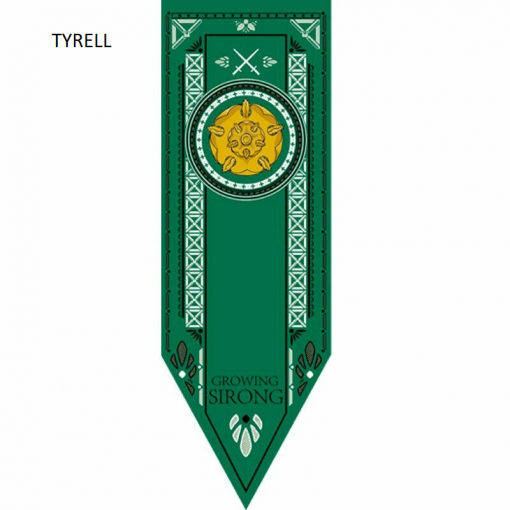 Newplay TYRELL Game of thrones banner flagga