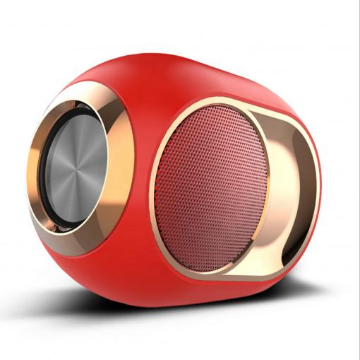 newplay bluetooth högtalare trådlös uppladdningsbar 5W X6 röd