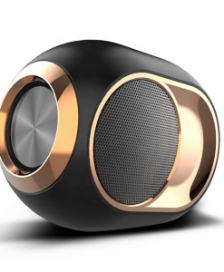 newplay bluetooth högtalare trådlös uppladdningsbar 5W X6 svart