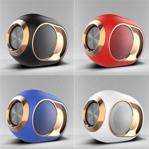 newplay bluetooth högtalare trådlös uppladdningsbar 5W X6 svart vit blå röd