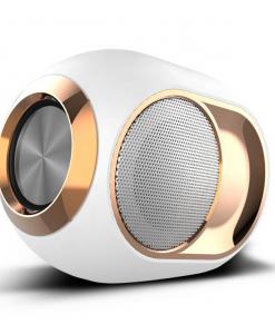 newplay bluetooth högtalare trådlös uppladdningsbar 5W X6 vit