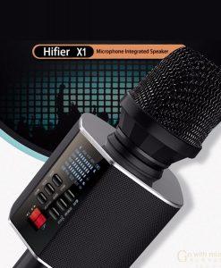 newplay bluetooth karaoke 18W X1 2049 inbyggda högtalare fjärrkontroll 9
