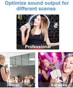 newplay bluetooth karaoke mikrofon 12W X37 hifier 2049 2