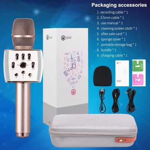 Newplay bluetooth karaoke mikrofon 12W X37 hifier 2049 6
