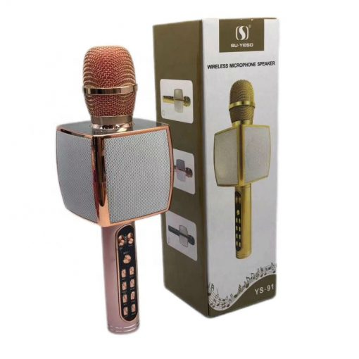 newplay bluetooth karaoke mikrofon YS-91 rosé