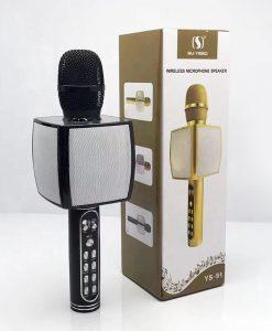 Newplay bluetooth karaoke mikrofon YS-91 svart