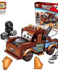 Newplay byggmodell bilar brun bärgarn 1