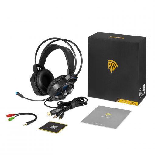 Newplay gaming hörlurar headset EasySMX COOL 2000 prudukt