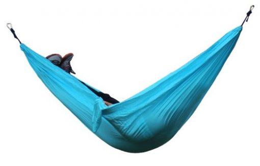 Newplay hängmatta med myggnät nylon 210D ljusblå