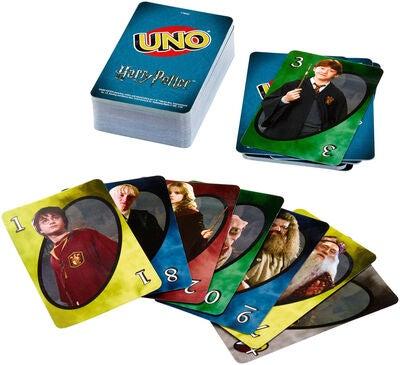 newplay harry potter uno kortspel cardgame 1