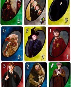 Newplay harry potter uno kortspel cardgame 2
