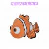 Hitta Nemo mjukisdjur - 25 cm