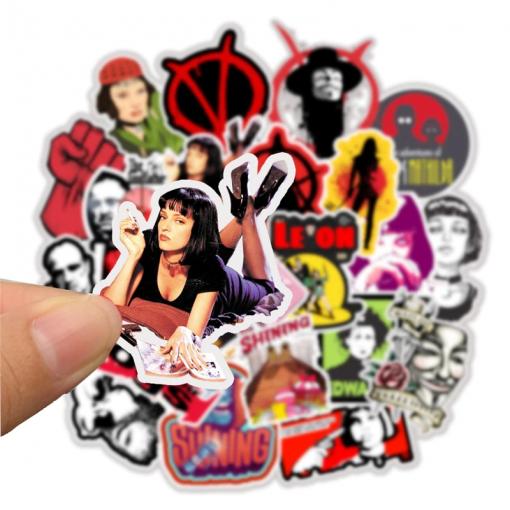 Newplay klistermärken stickers filmtema filmstjärnor 1