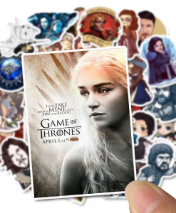 newplay klistermärken stickers game of thrones GoT 1