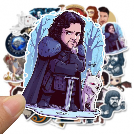 newplay klistermärken stickers game of thrones GoT 2