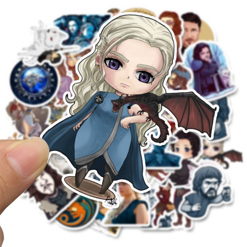 newplay klistermärken stickers game of thrones GoT