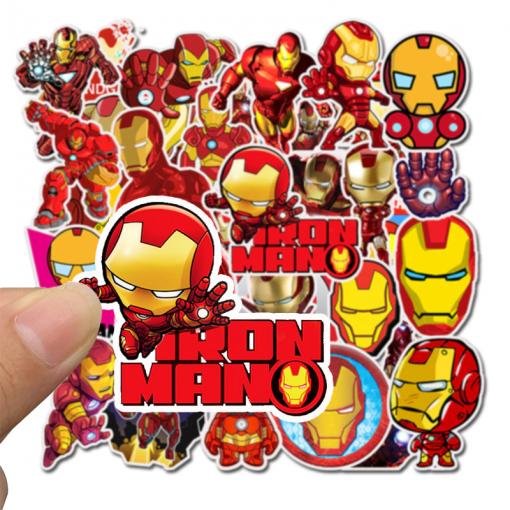 newplay klistermärken stickers iron man