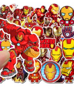 newplay klistermärken stickers iron man marvel