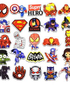 Newplay klistermärken stickers marvel superhjältar 1