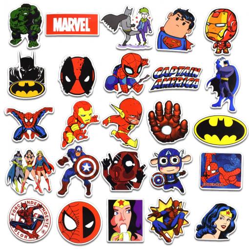 Newplay klistermärken stickers marvel superhjältar 2