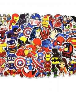 Newplay klistermärken stickers marvel superhjältar