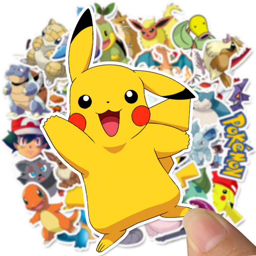 Newplay klistermärken stickers pokemon 1