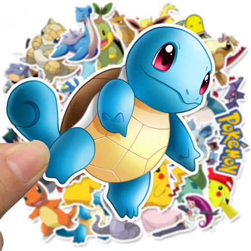 newplay klistermärken stickers pokemon 2