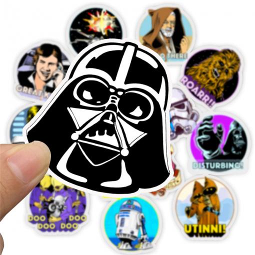 Newplay klistermärken stickers starwars star wars 35
