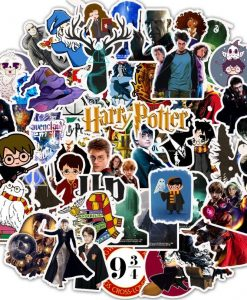 newplay klistermärken stickers harry potter 50 1.0