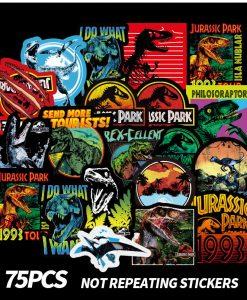 newplay klistermärken stickers jurassik park dinosaurer 1.0