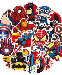 Newplay klistermärken stickers superhjältar marvel 4.2