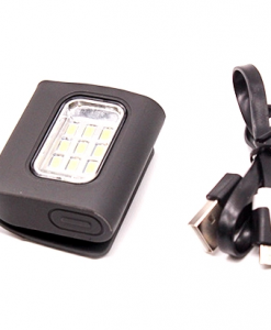 Newplay löparlampa ficklampa 9 LED uppladdningsbar 1 (3)