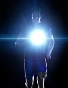 Newplay löparlampa ficklampa 9 LED uppladdningsbar 2 (2)